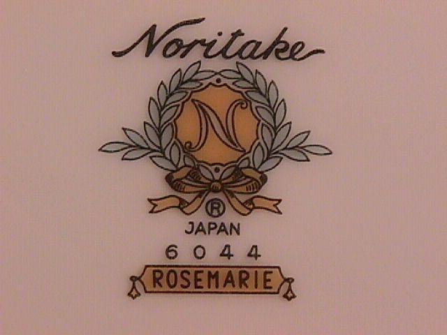 Noritake Fine China (Rosemarie) #6044 2-Salad Plates