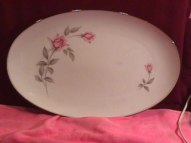Noritake Fine China (Rosemarie) #6044 Turkey Platter