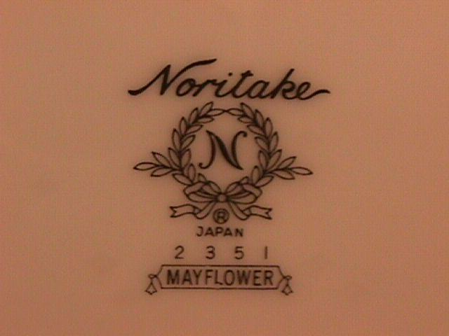 Noritake Fine China (Mayflower) #2351 Cup & Saucers
