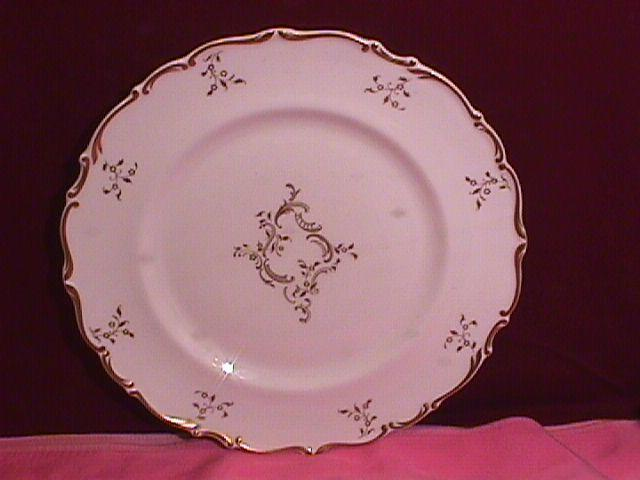 Royal Doulton Bone China (Monteigne) # H-4954 Dinner Plate
