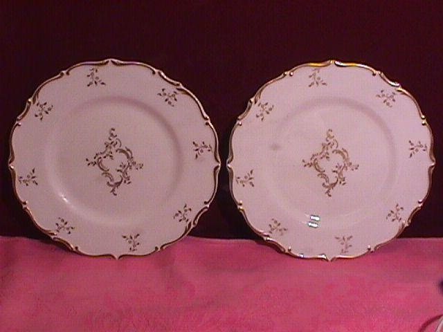 Royal Doulton Bone China (Monteigne) # H-4954 2-Salad Plates