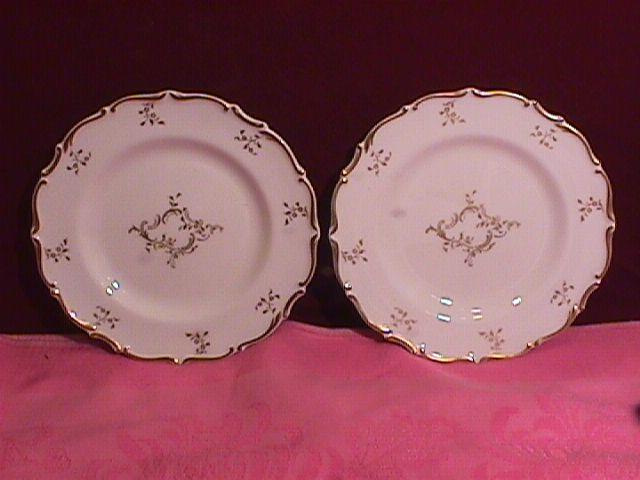Royal Doulton Bone China (Monteigne) # H-4954 2-Cake Plates