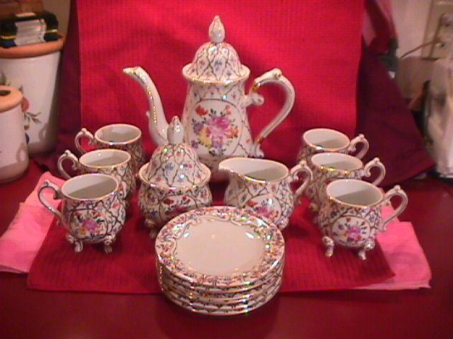 Limoges Castel, France Complete Coffee Service