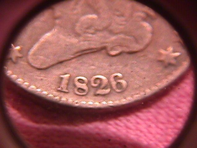 Coin Classic Head Half Cent  1826 Very Fine 25 Condition