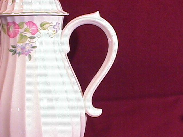 Royal Worcester- Bone China (English Garden) Coffee Pot
