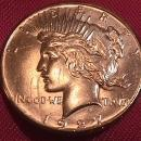 PEACE TYPE SILVER DOLLAR 1927-P MINT STATE-67