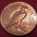 Peace Type Silver Dollar 1927 MS-62 / 63