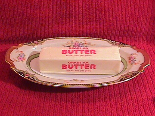 Noritake China (Floreal) #76839 Open Butter/Relish