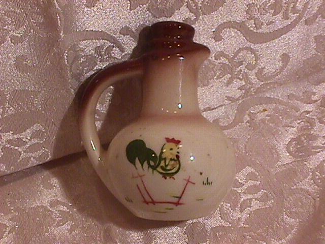 Brock China (Country Lane-Brown) Jug-Salt Shaker