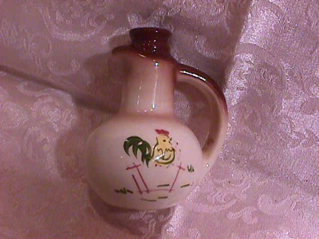 Brock China (Country Lane-Brown) Jug-Pepper Shaker