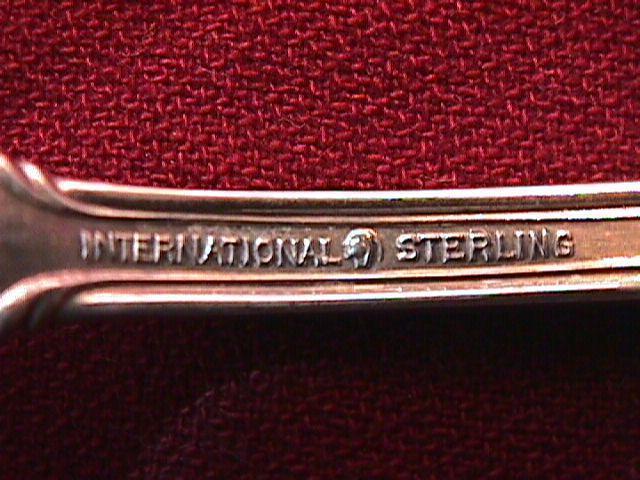 STERLING INTERNATIONAL JOAN of ARC DINNER FORK