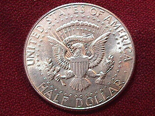 KENNEDY HALF DOLLAR 1967-P MS-65