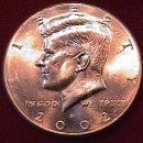 KENNEDY HALF DOLLAR 2002-D MINT STATE-63+++
