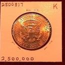 KENNEDY HALF DOLLAR 2003-D MINT STATE-63+++