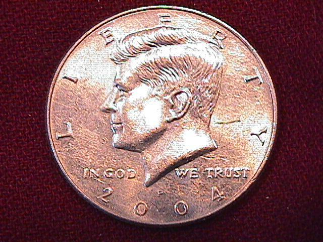 KENNEDY HALF DOLLAR 2004-P MINT STATE-63+++