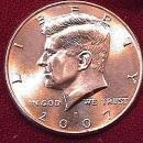 KENNEDY HALF DOLLAR 2007-P MINT STATE-63+++