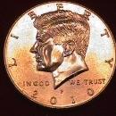 KENNEDY HALF DOLLAR 2010-P MINT STATE-63+++