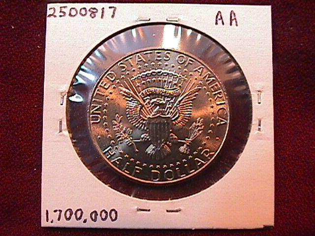 KENNEDY HALF DOLLAR 2011-D MINT STATE-63+++