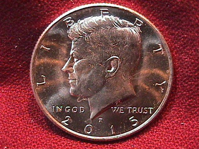 KENNEDY HALF DOLLAR 2015-P MINT STATE-63+++