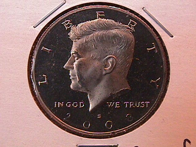 KENNEDY HALF DOLLAR 2008-S CIRCULATED PROOF