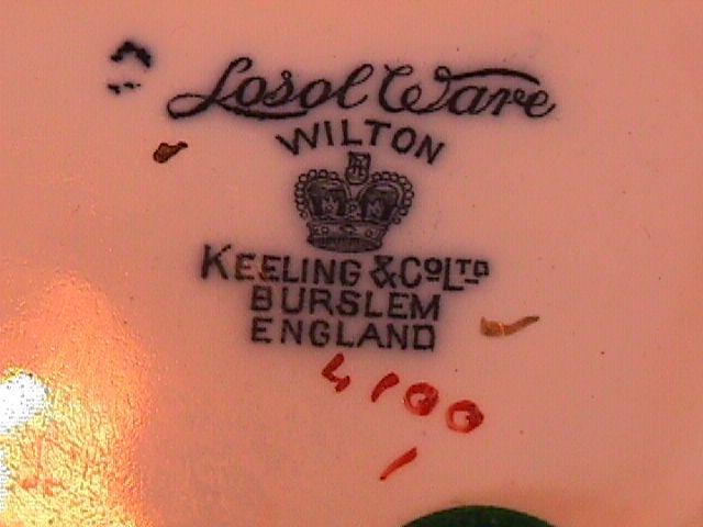 WILTON KEELING&CO LTD BURSLEM ENGLAND