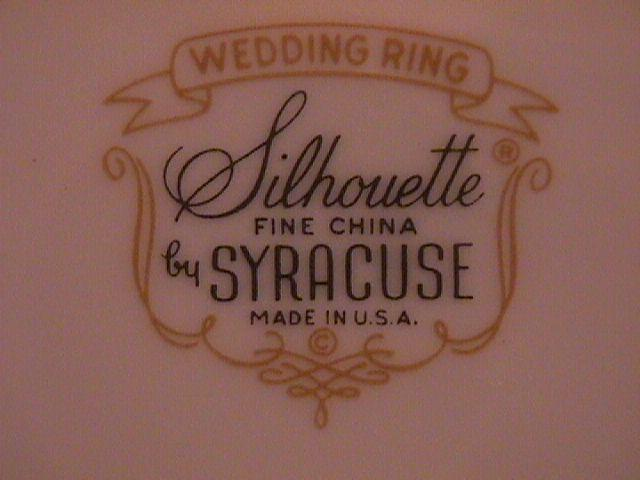 Syracuse Wedding Ring 2=Saucers