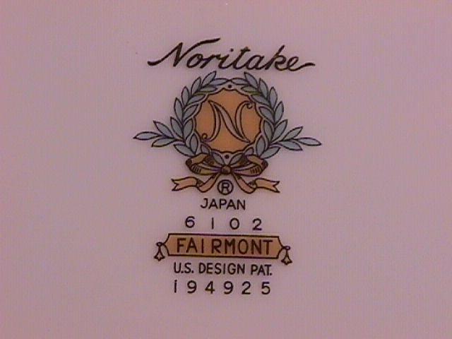 Noritake Fairmont 2-Cake Plates