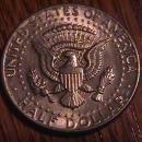 1974-D DOUBLE DIE OBVERSE KENNEDY HALF DOLLAR