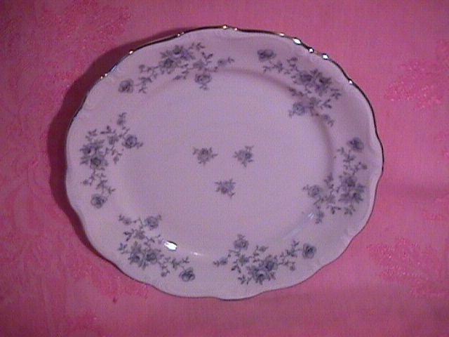 Johann Haviland Blue Garland Salad Plate