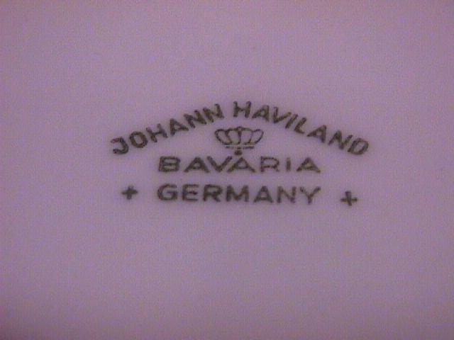 Johann Haviland Blue Garland (2) Fruit Bowls