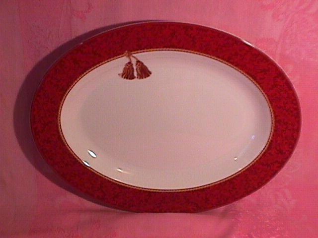 Sakura Halllmark Holiday Abundance Roast Platter