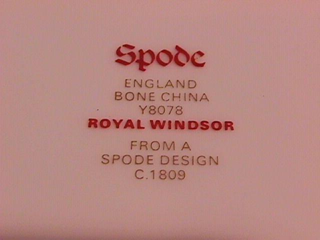 Spode Royal Windsor-Y8078 Gravy Boat