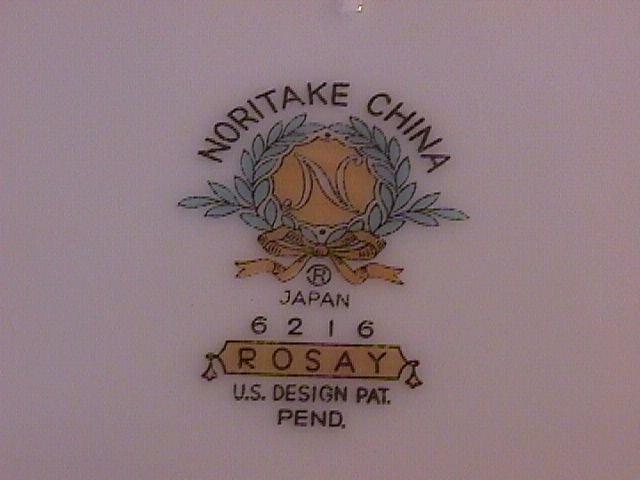 Noritake Rosay-6216 Dinner Plate