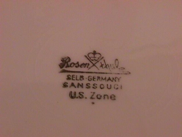 Rosenthal Heirloom-3070 Creamer