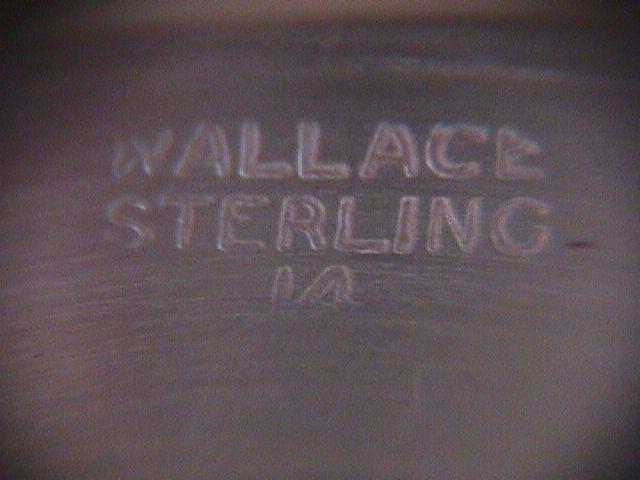 WALLACE Sterling Co. (Sterling)