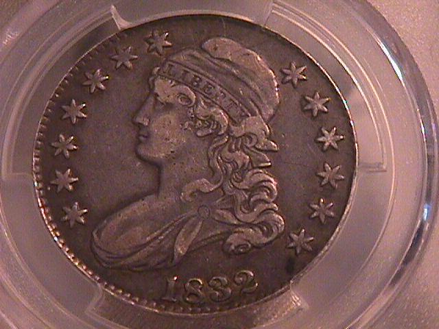 CAPPED BUST HALF DOLLAR  DATED -1832 GRADED VERY FINE -30   Condition