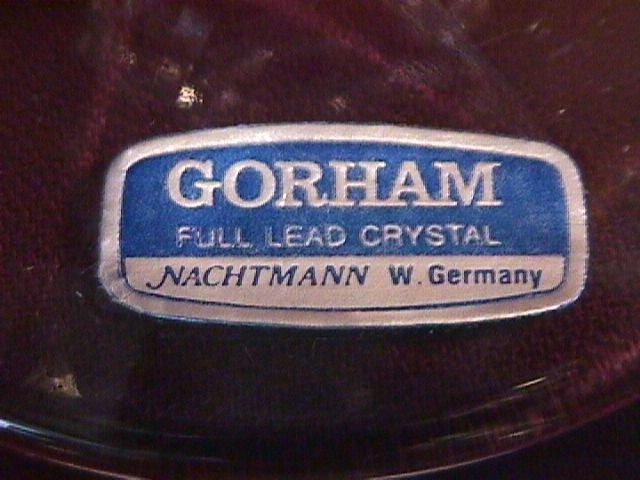 Crystal by Gorham