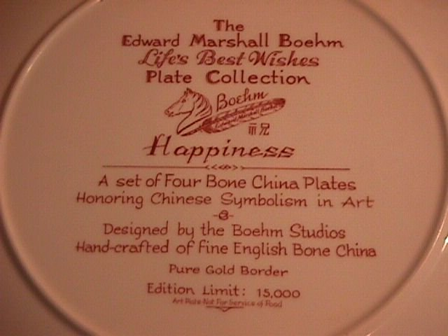 Edward Marshall Boehm, Life's Best Wishes Series,