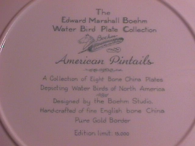 Edward Marshall Boehm, Water Bird Collection