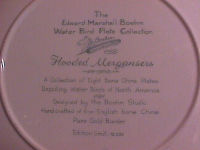 Edward Marshall Boehm, Water Bird Collection
