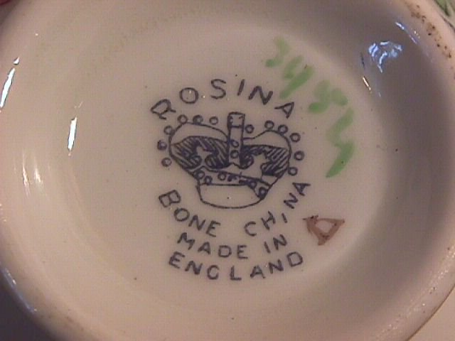 Rosina, England, Fine Bone China
