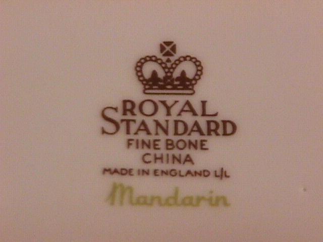 Royal Standard, England, Fine Bone China,