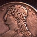 CAPPED BUST HALF DOLLAR   DATED -1838 GRADED VERY FINE -30   Condition