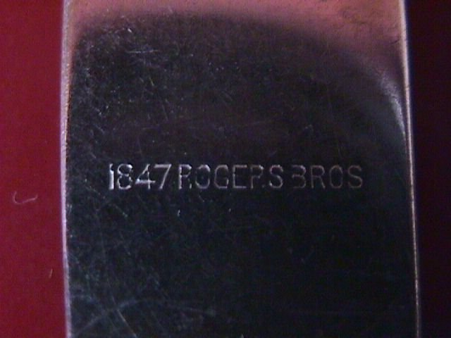 International 1847 Rogers