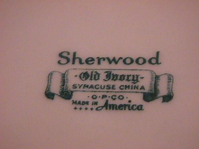 Syracuse China Old Ivory