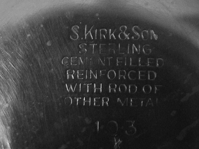 S. Kirk & Sons Sterling