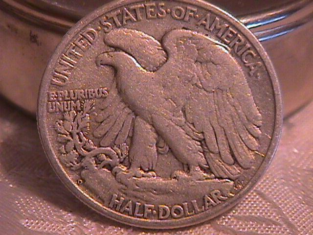 LIBERTY WALKING  HALF DOLLAR  DATED -1946-D GRADED EXTREMELY FINE -45   Condition