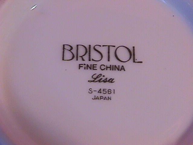 Bristol Fine China (Lisa #S-4561) Covered Sugar