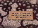 Sydenstricker Hand Made Glass Ruffled Bowl