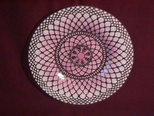 Sydenstricker Hand Made Glass Salad Plate